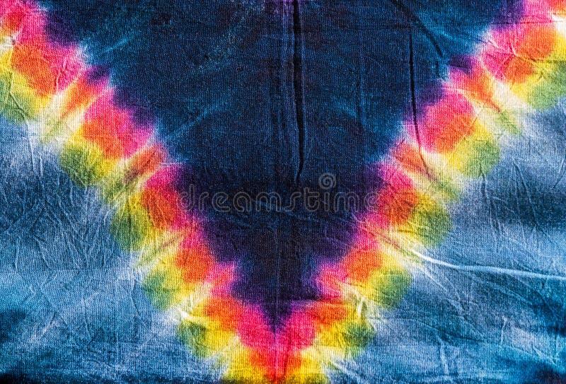 Tie dye hippy pattern stock photo