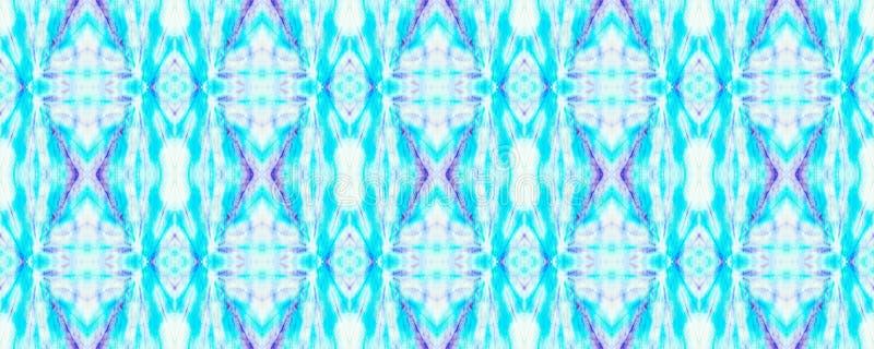Tie Dye Pattern. Indigo and Blue Tie Dye Pattern. Shibori seamless print. Watercolor hand drawn batik. Summer ink japan illustration. Handmade watercolour shirt vector illustration