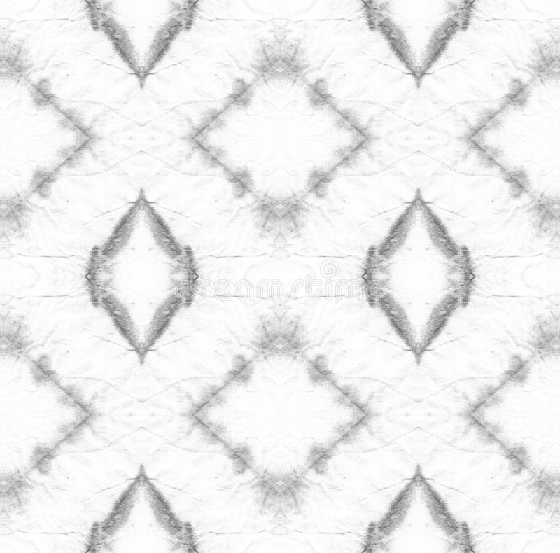 Tie Dye Pattern. Shibori seamless print. Tie Dye Pattern. Black and White Watercolor hand drawn batik. Summer ink japan illustration. Handmade watercolour shirt vector illustration