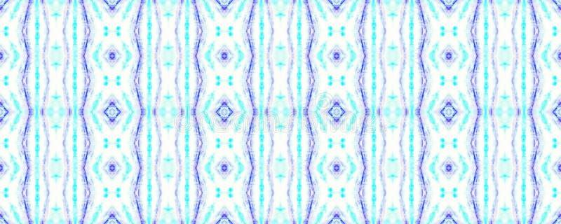 Tie Dye Pattern. Shibori seamless print. Indigo and Blue Watercolor hand drawn batik. Summer ink japan illustration. Handmade watercolour shirt tie dye pattern vector illustration