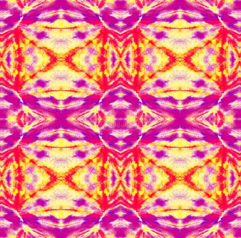 Tie Dye Pattern. Shibori seamless print. Tie Dye Pattern. Watercolor hand drawn batik. Summer ink japan illustration. Handmade watercolour shirt tie dye pattern stock illustration