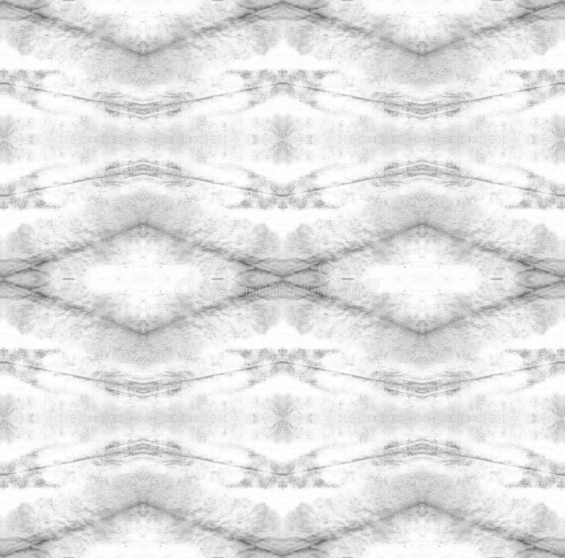 Tie Dye Pattern. Shibori seamless print. Watercolor hand drawn batik. Summer ink japan illustration. Handmade watercolour shirt  Aztec kaleidoscope texture stock images