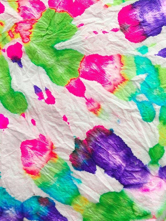 Tie Dye Spiral Hintergrund stockbilder