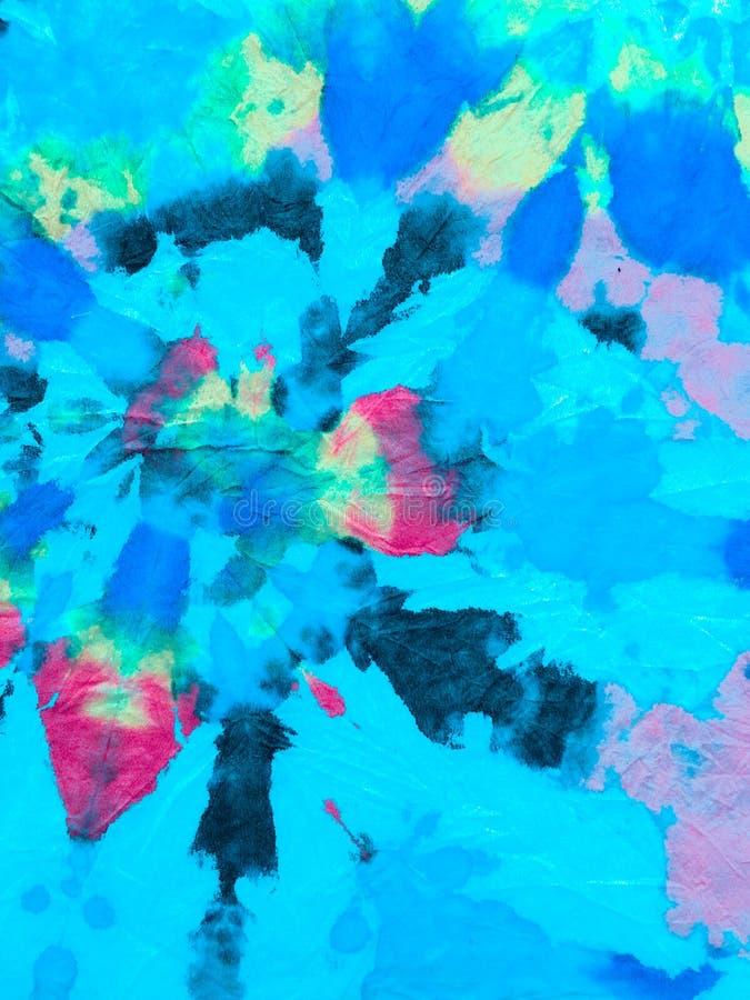 Tie Dye Spiral Hintergrund lizenzfreies stockbild