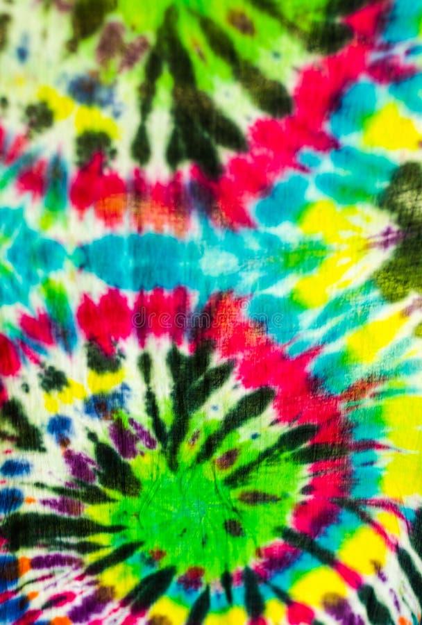 Tie dye textile pattern. Colorful tie dye textile pattern royalty free stock photography