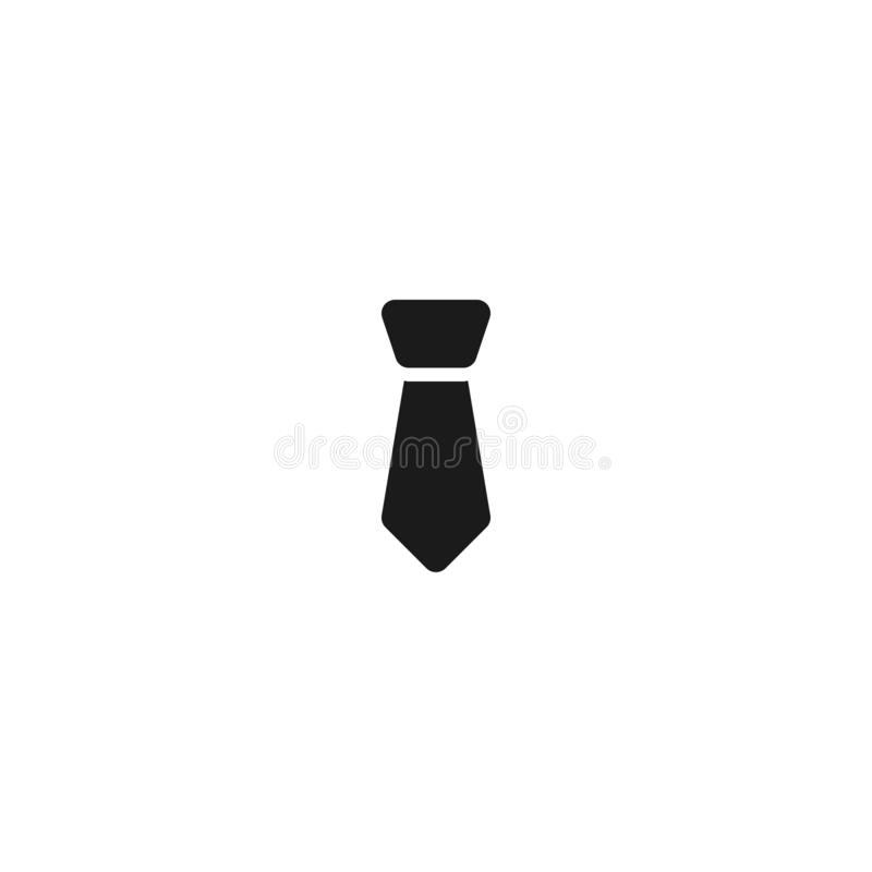Tie icon for employee symbol. simple clean professional business management concept vector illustration design. Eps 10 stock illustration