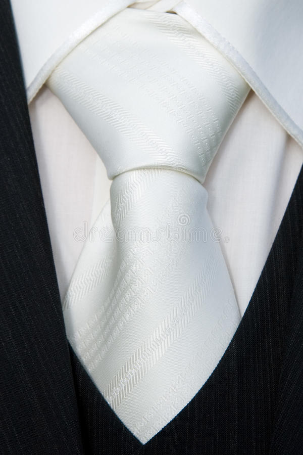 Download Tie knot detail stock image. Image of maid, knot, detail - 21499177