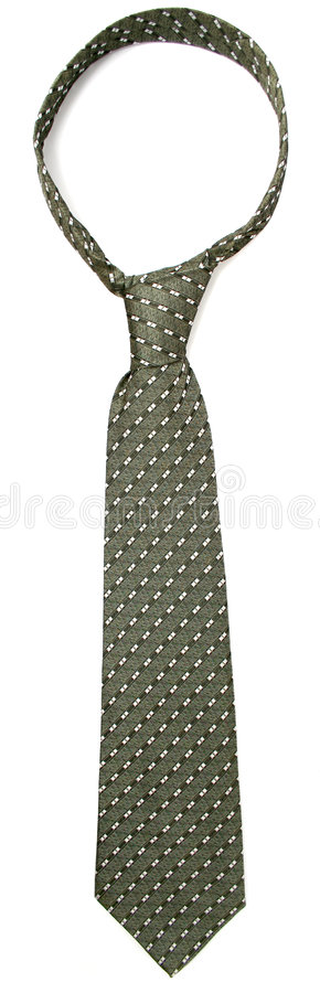 Tie - a personal accessory of each businessman on a white