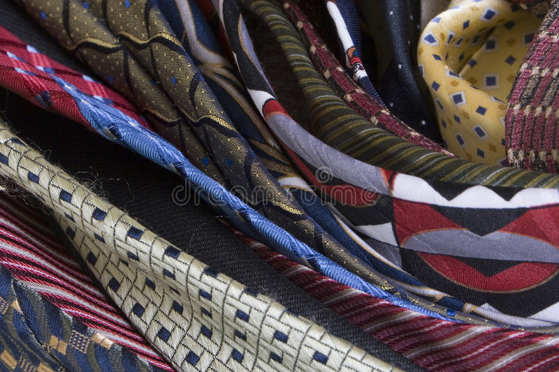 Tie Roll Royalty Free Stock Photo