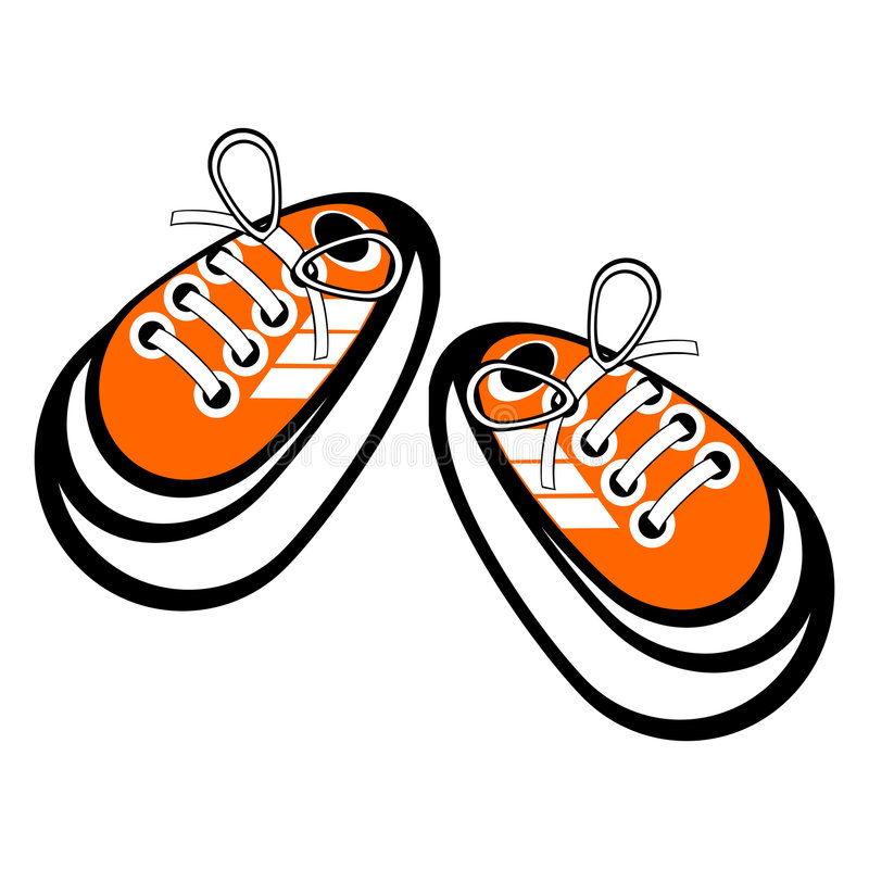 Free Tied Sneakers Stock Photography - 2806792