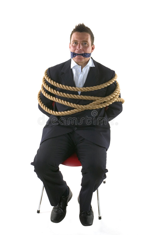 Tied Up Stock Image
