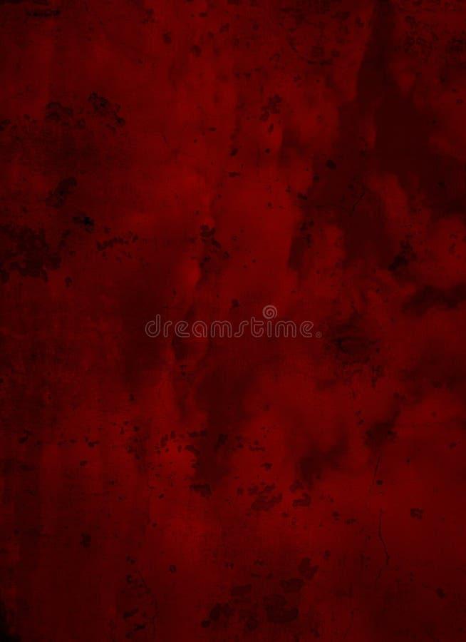 Tiefer dunkelroter Schmutz-strukturierter Hintergrund stockfotos