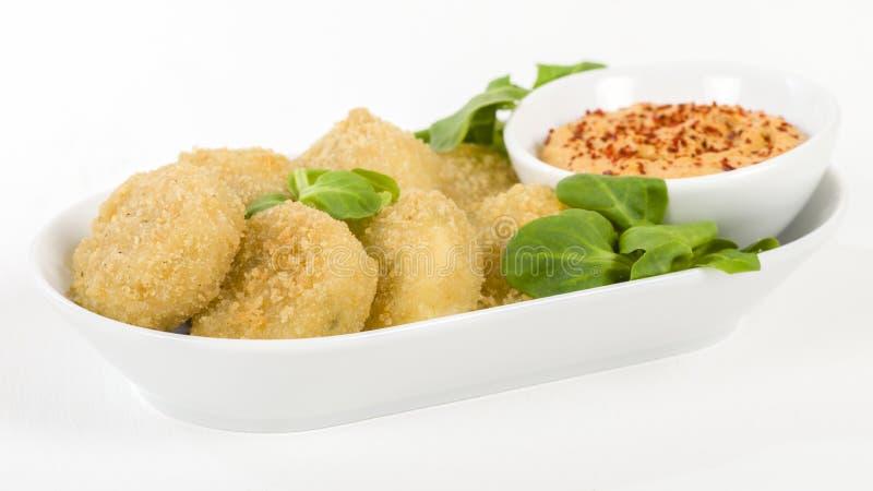 Tiefer Fried Cheese lizenzfreie stockfotos
