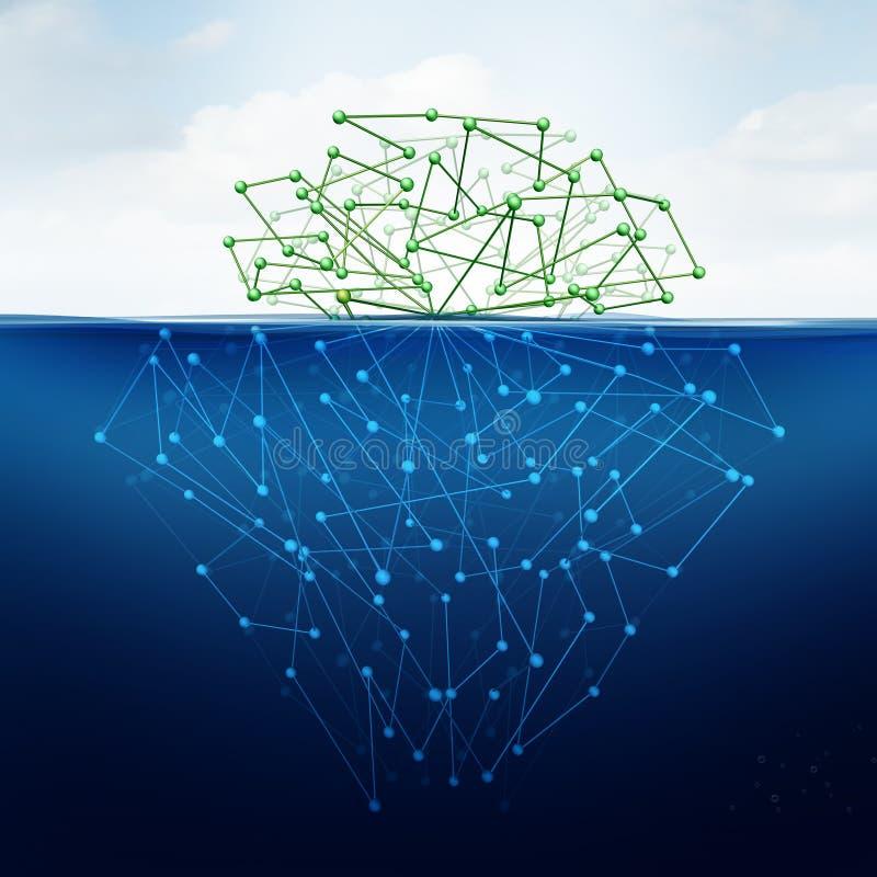 Tiefes Netz stock abbildung