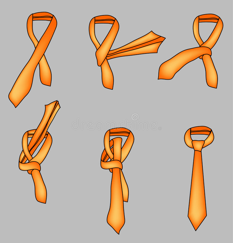 Tieknot ilustração do vetor