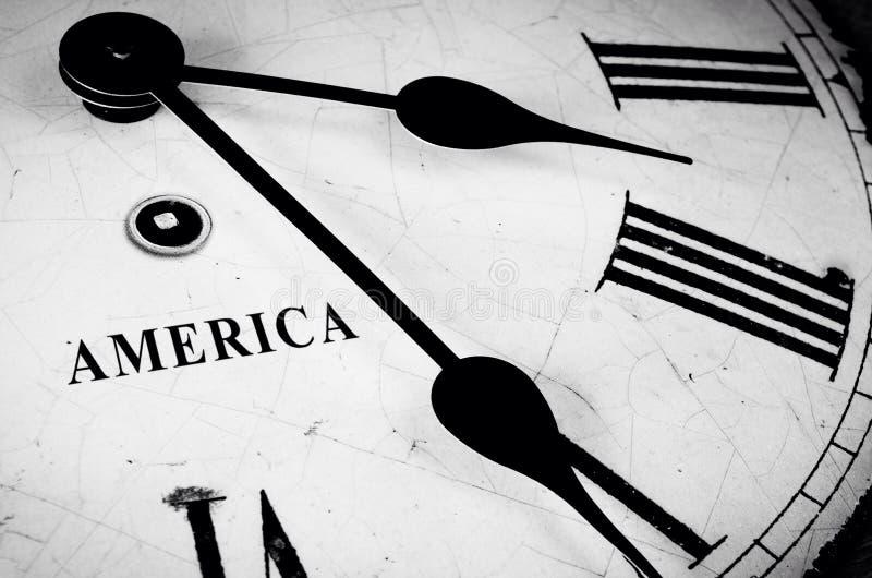 Tiempo americano imagenes de archivo