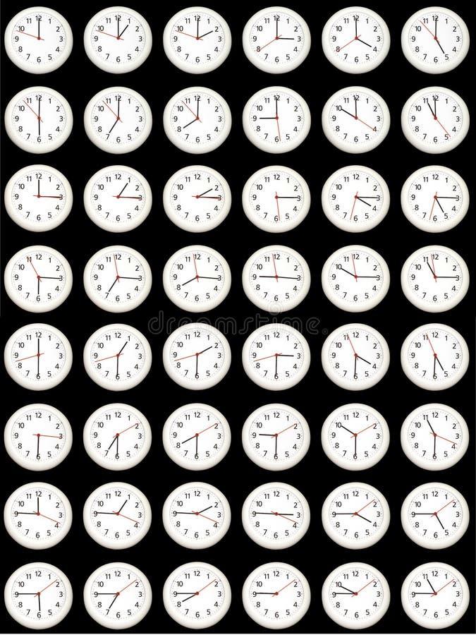 Tiempo - cada quince minutos. fotografía de archivo