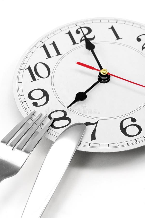 Tiempo de desayuno fotos de archivo