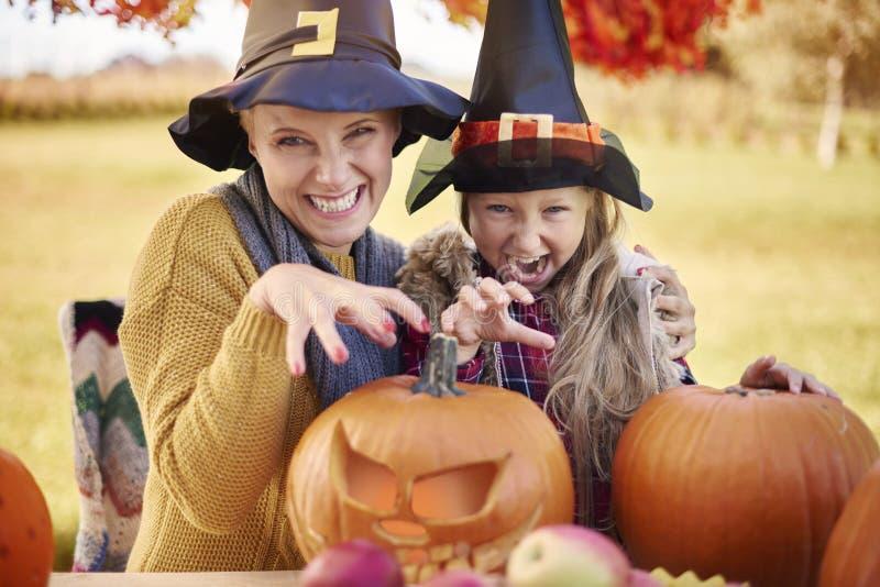 Tiempo de Halloween foto de archivo