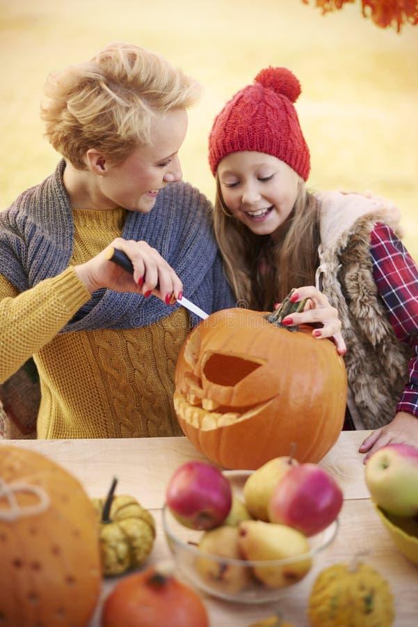 Tiempo de Halloween fotografía de archivo