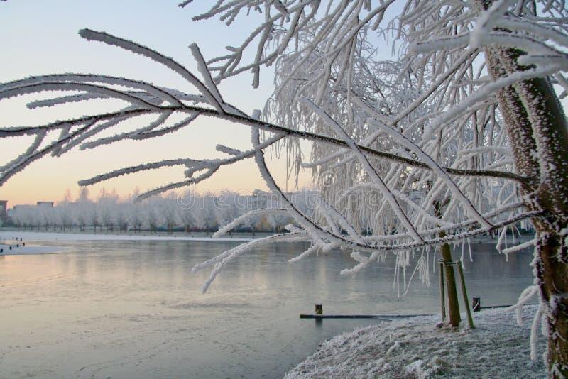 Tiempo de invierno imagen de archivo