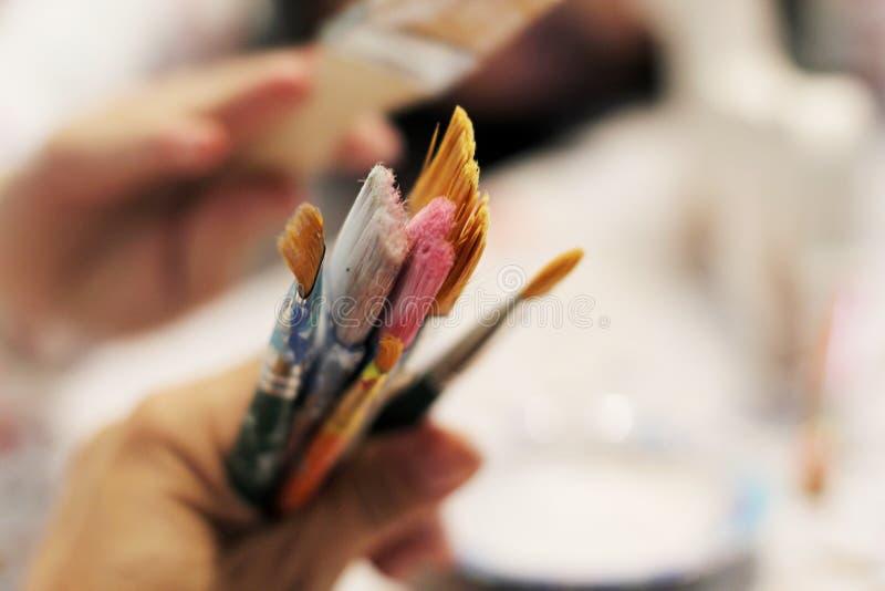 Tiempo de la pintura imagen de archivo libre de regalías