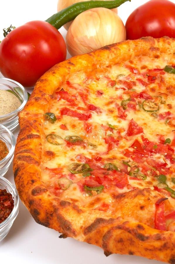 Download Tiempo de la pizza foto de archivo. Imagen de comida, queso - 1294484