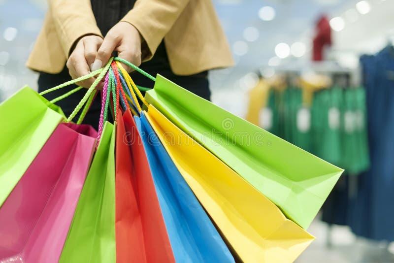 Tiempo de las compras fotografía de archivo libre de regalías