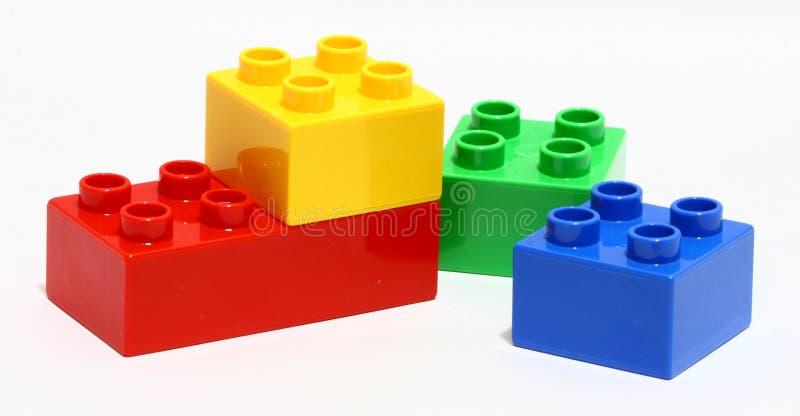 Tiempo de Lego foto de archivo