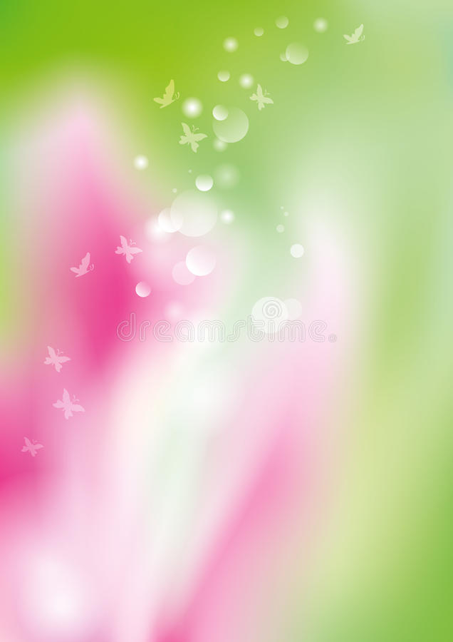 Tiempo de primavera ilustración del vector