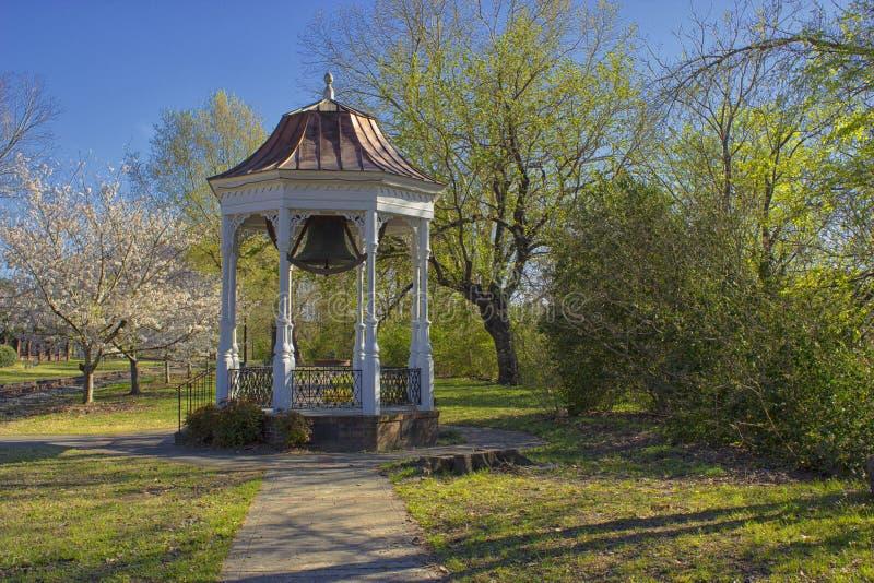 Tiempo de primavera en Columbus Georgia fotografía de archivo