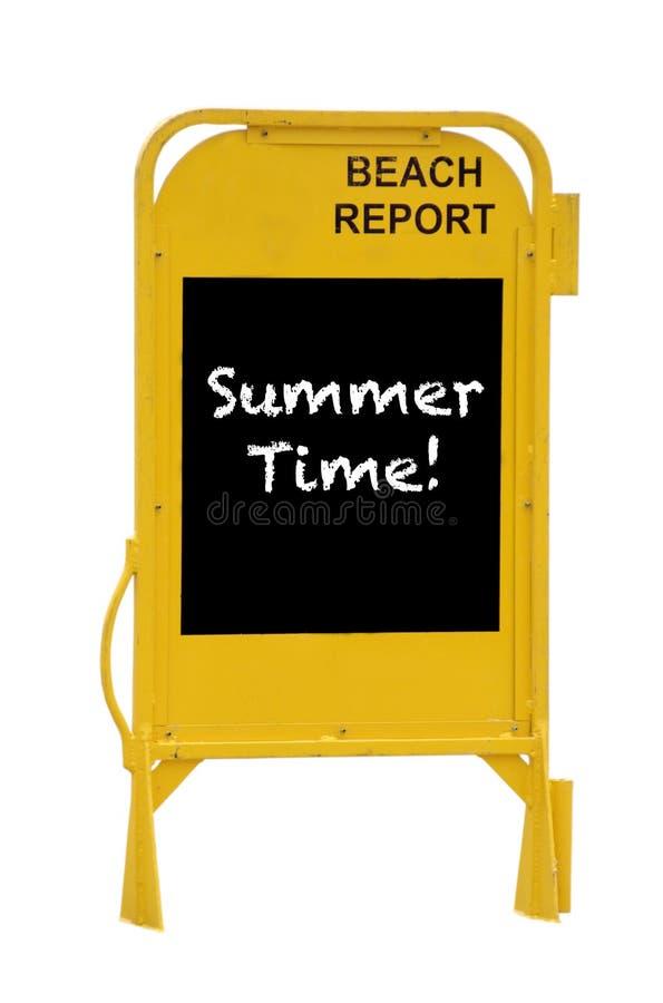 Tiempo de verano imagen de archivo libre de regalías