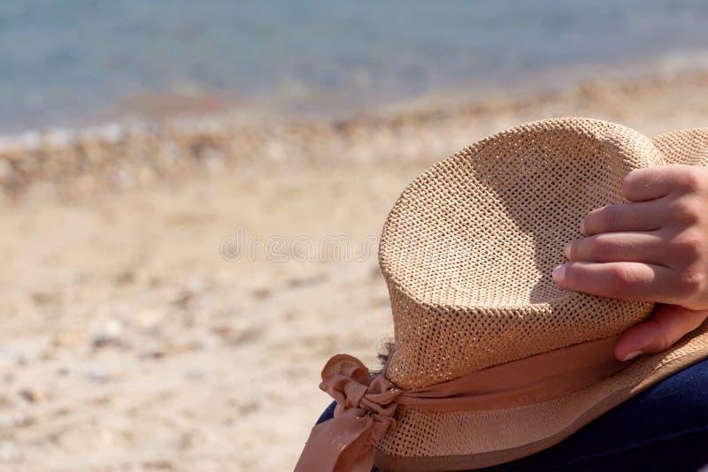 Tiempo de verano en la playa fotografía de archivo libre de regalías
