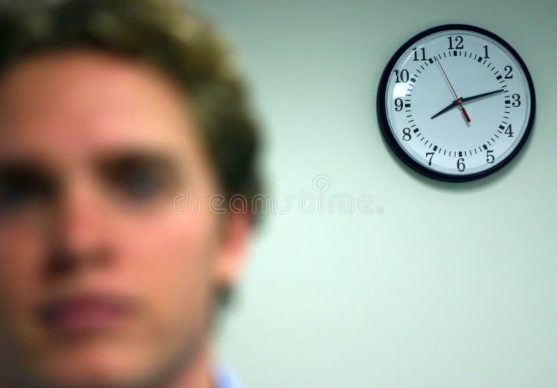 Tiempo del asunto foto de archivo