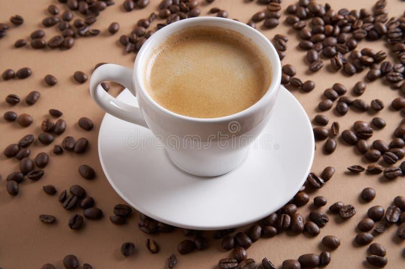 Tiempo del café - Kaffeezeit fotos de archivo