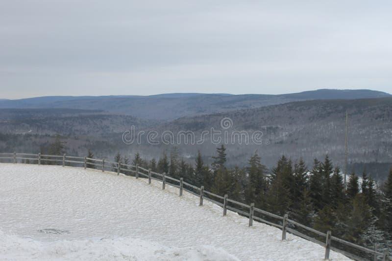 Tiempo del esquí imagen de archivo libre de regalías