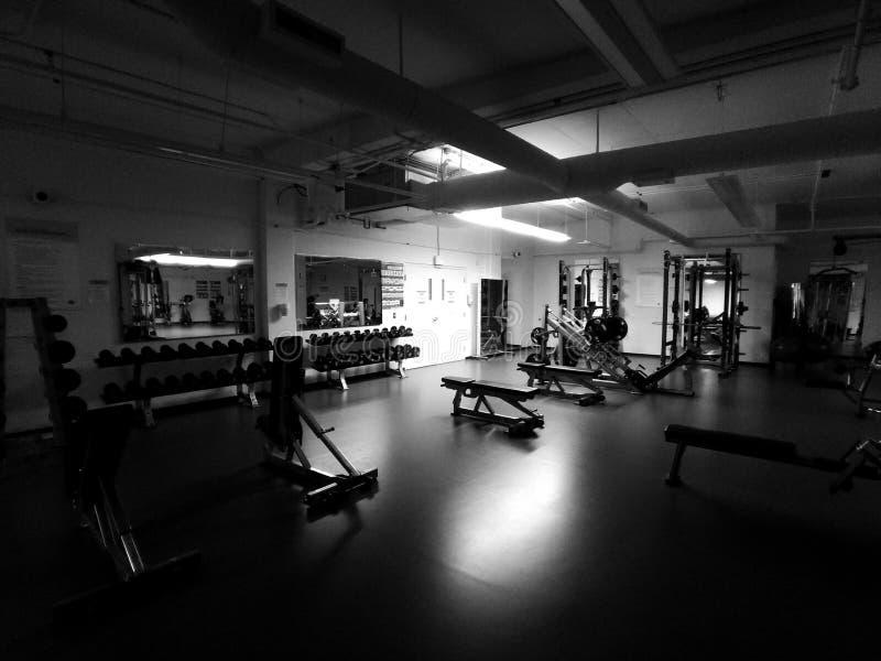 Tiempo del gimnasio fotografía de archivo libre de regalías