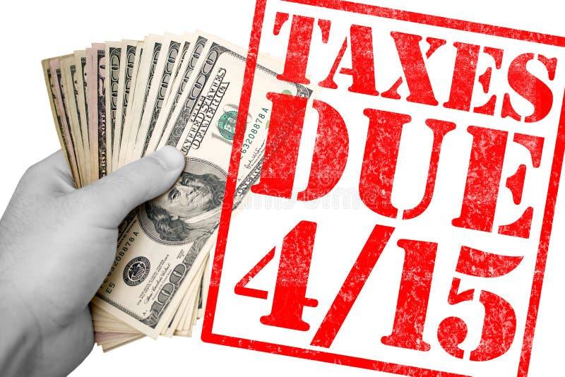 Tiempo del impuesto fotografía de archivo libre de regalías