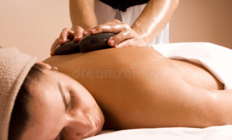 Tiempo del masaje fotos de archivo