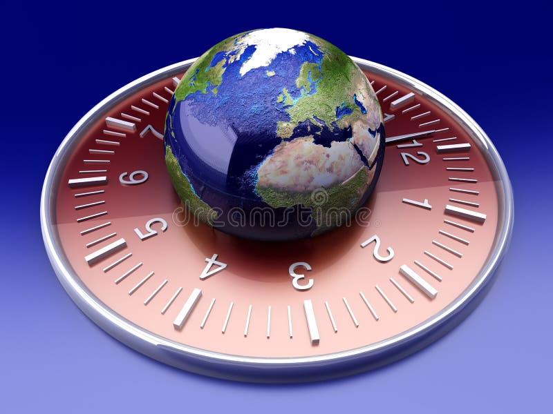 Tiempo del mundo imágenes de archivo libres de regalías