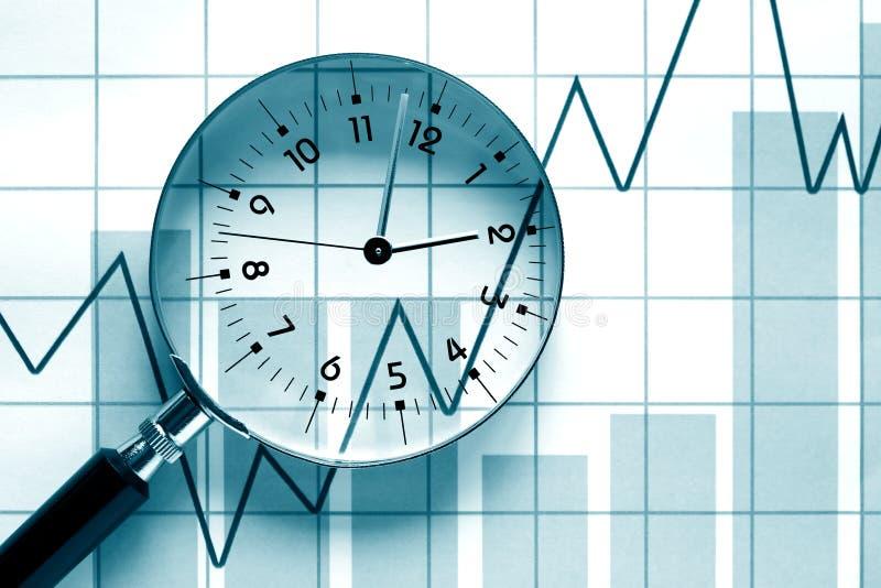 Tiempo del negocio imagen de archivo