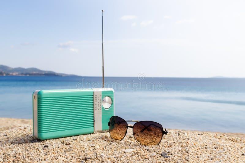 Tiempo del partido en la playa imágenes de archivo libres de regalías