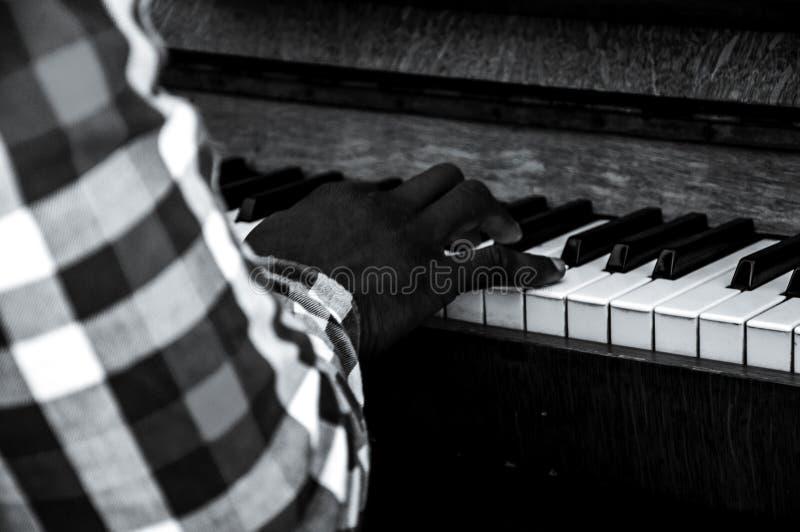 Tiempo del piano fotografía de archivo libre de regalías