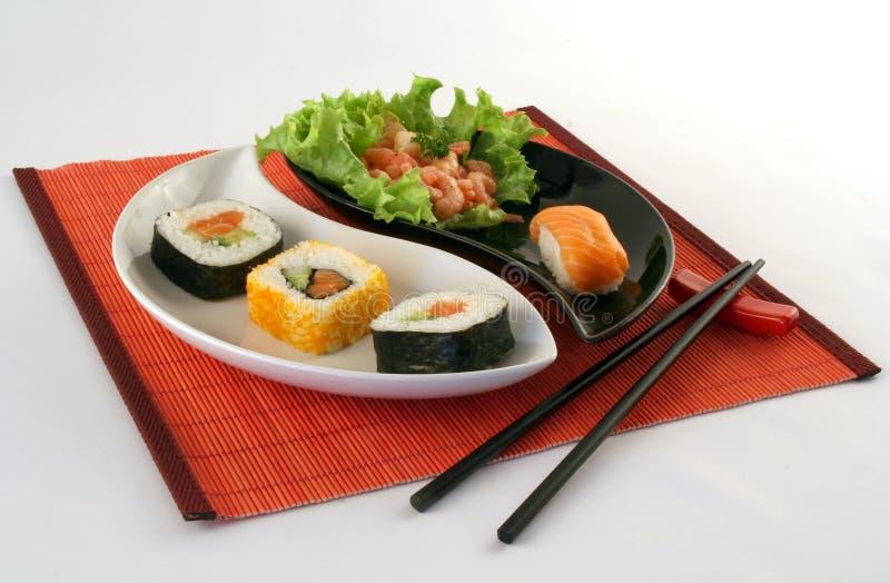 Tiempo del sushi imagen de archivo libre de regalías