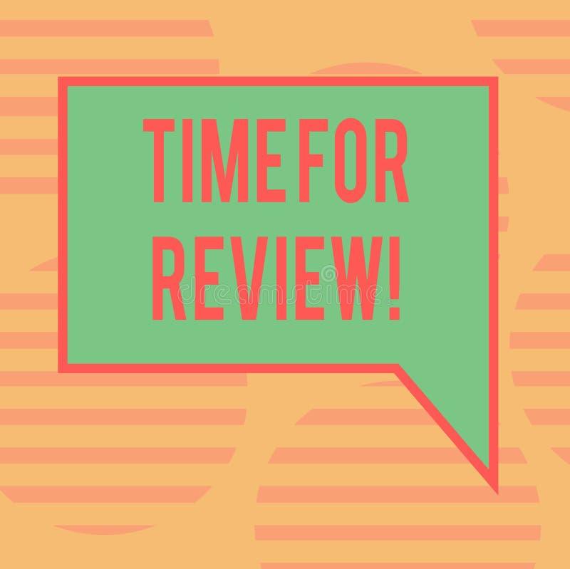 Tiempo del texto de la escritura de la palabra para el comentario Concepto del negocio para el momento Perforanalysisce Rate Asse fotografía de archivo