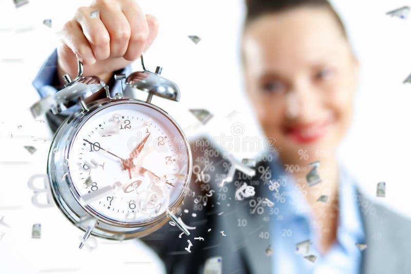 Tiempo en negocio foto de archivo