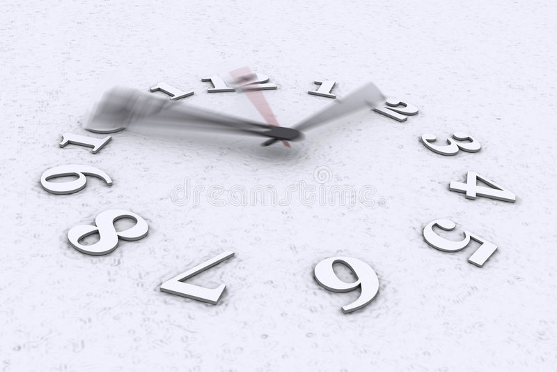 Tiempo en el movimiento imagenes de archivo