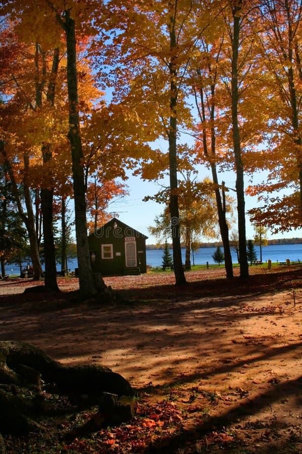 Tiempo escénico del otoño foto de archivo