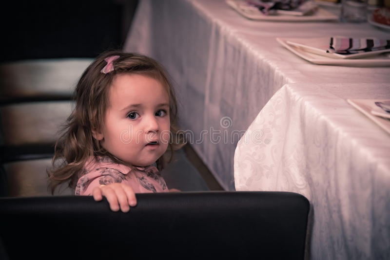Tiempo feliz del bebé fotografía de archivo libre de regalías