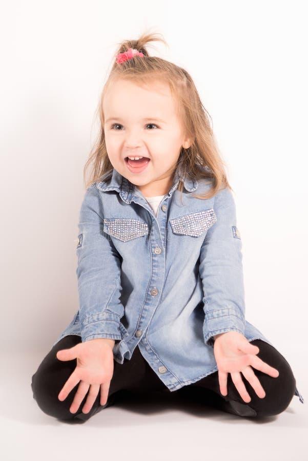 Tiempo feliz del bebé fotos de archivo libres de regalías